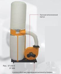 Пылесборник для стружки ST250E
